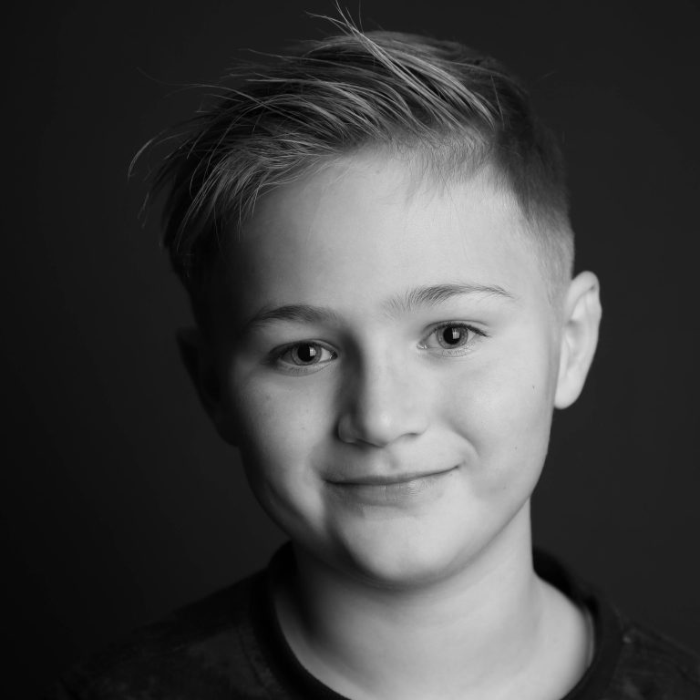 Portret fotografie zwart wit